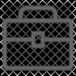 Briefcase Line Icon