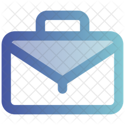 Briefcase Gradient Icon
