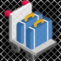 Briefcase Dolly Icon