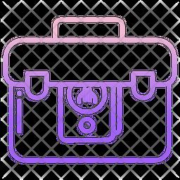 Briefcase Money Icon