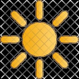 Brightness Gradient Icon