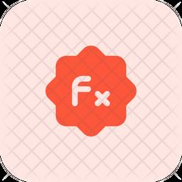 Brightness Function Flat Icon