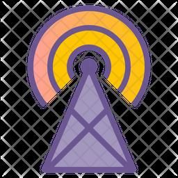 Broadcast Station Icon