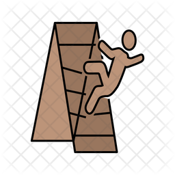 Broke Stairs Icon
