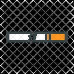 Broken Cigarettes Icon