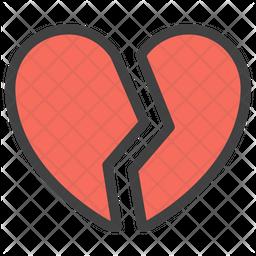 Broken Heart Emoji Icon