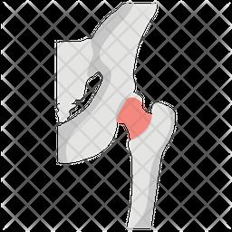 Broken Hip Icon