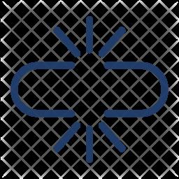 Broken Link Logo Icon