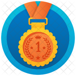 Bronze Medal Icon Of Rounded Style Available In Svg Png Eps Ai Icon Fonts