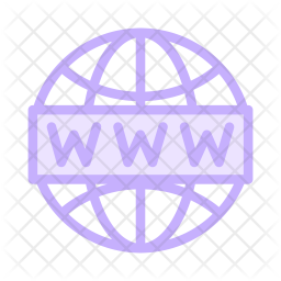 Browser Colored Outline Icon