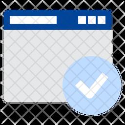 Browser Check Icon