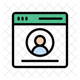 Browser Login Icon