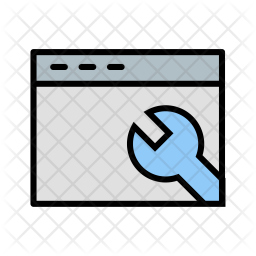 Browser, Settings, Wrench, Window Icon