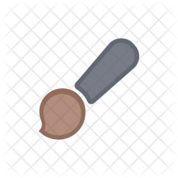 Brush Colored Outline Icon