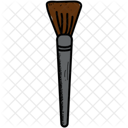 Brush Icon Of Colored Outline Style Available In Svg Png Eps Ai Icon Fonts