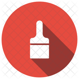 Brush Glyph Icon