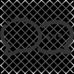 Bubble Line Icon