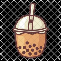 Bubble milk tea Icon