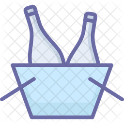 Bucket cooler Icon