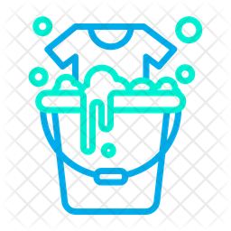 Bucket Laundry Icon