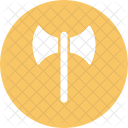 Budded Cross Flat Icon