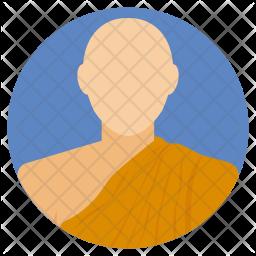 Buddhist Monk Icon