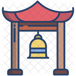 Budhhis Temple Bell Icon