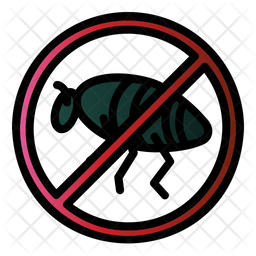 Bug Colored Outline Icon