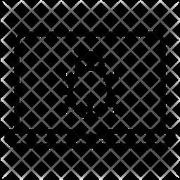 Bug Line Icon