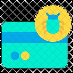 Bug Credit Card Icon