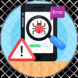 Bug Error Icon