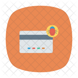 Bug In Creditcard Icon