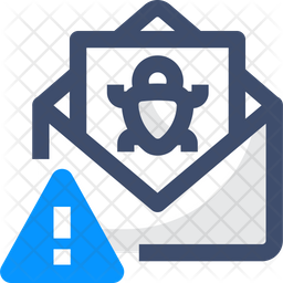 Bug Mail Warning Icon