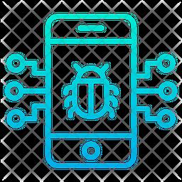 Bug Mobile Icon