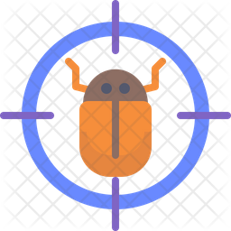 Bug target Icon
