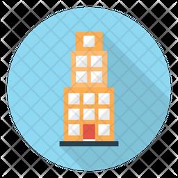 Building Flat Icon