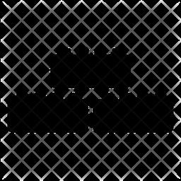 Building Blocks Glyph Icon