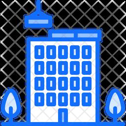 Building construction Dualtone Icon