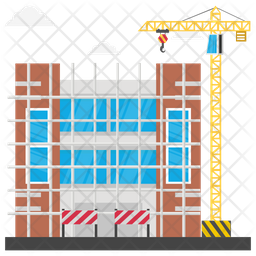 Building Scaffolding Icon