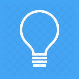 Bulb Line Icon