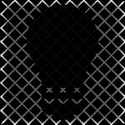 Bulb Glyph Icon