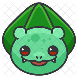 Bulbasaur Colored Outline Icon