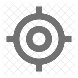 Bullseye Glyph Icon