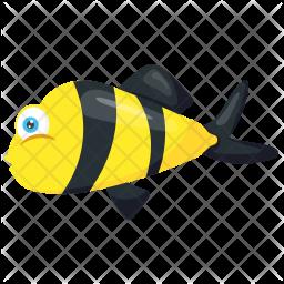 Bumblebee fish Icon