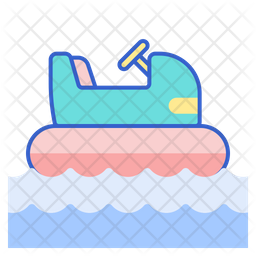 Bumper Boats Icon