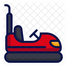 Bumper car Icon