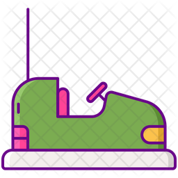 Bumper Cars Icon