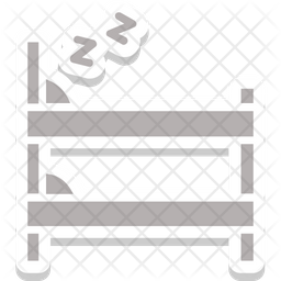 Bunk Bed Sticker Icon