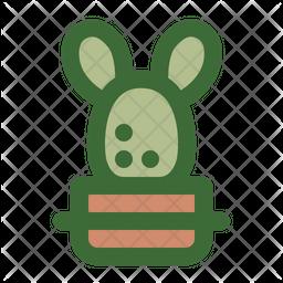 Bunny Ear Cactus Icon