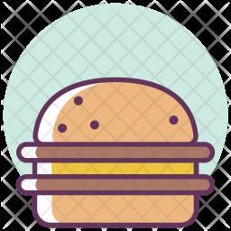 Burger, Cheese, Fastfood, Hamburger, Food Icon